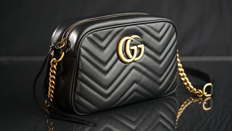 写真:グッチのバッグ