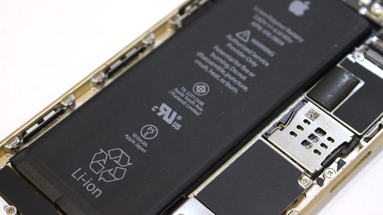 写真:バッテリー交換