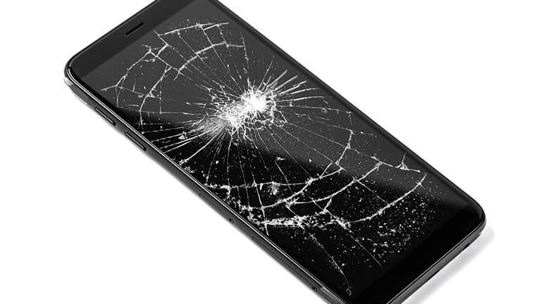 写真:スマートフォン修理