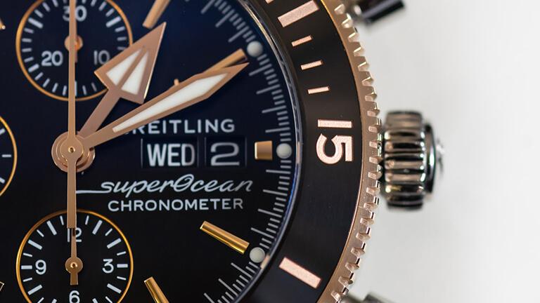 写真:ブライトリングの腕時計