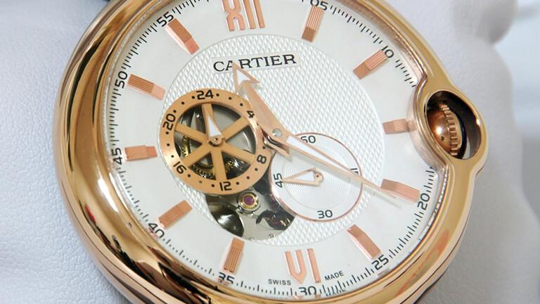 写真:カルティエの腕時計