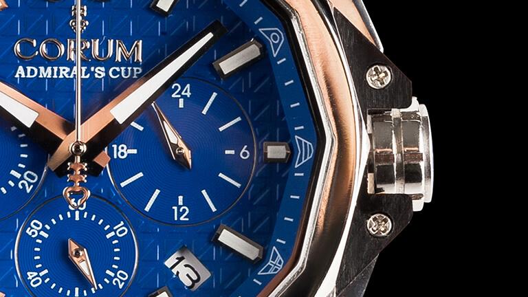 写真:コルムの腕時計