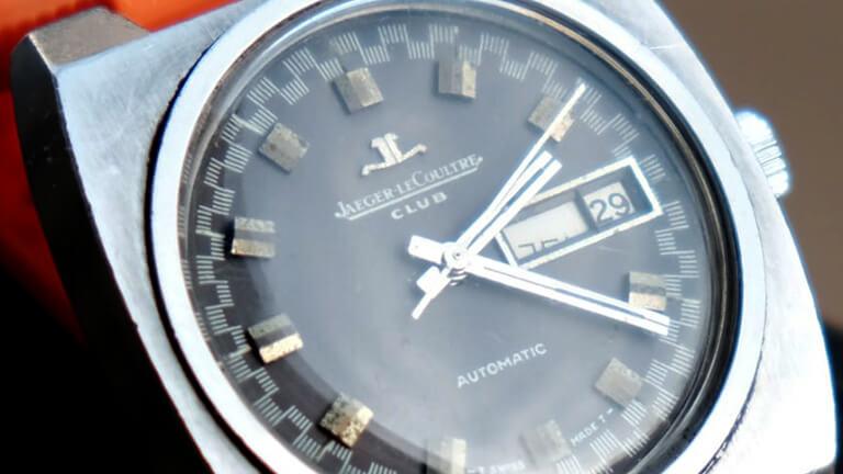 写真:ジャガールクルトの腕時計