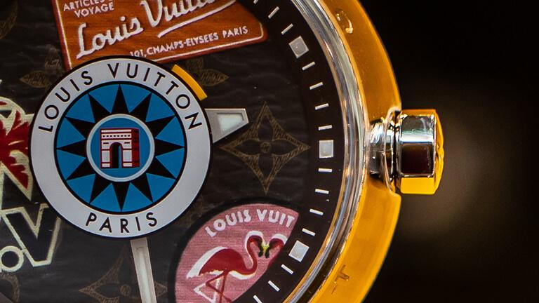 写真:ルイヴィトンの腕時計