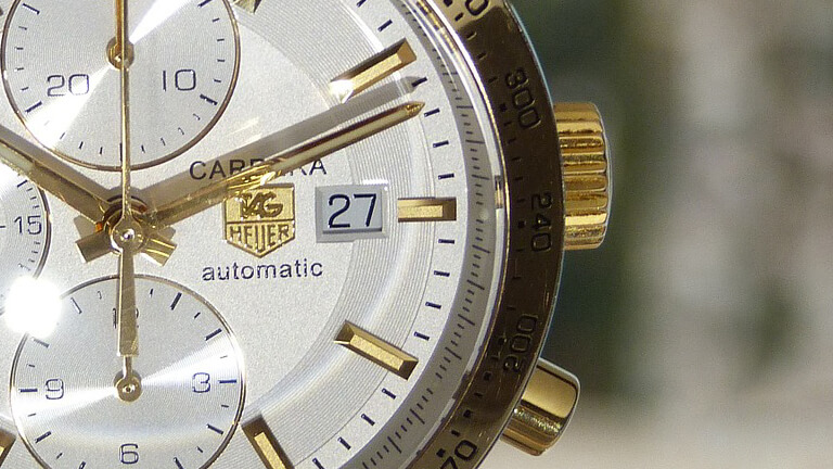 写真:タグホイヤーの腕時計